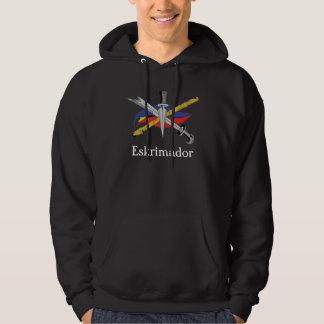 escrima-logo-transparent, Eskrimador Hoodie