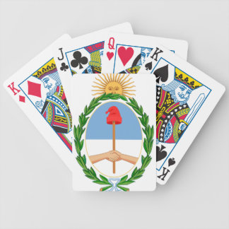 Escudo de Argentina - Coat of arms of Argentina Bicycle Playing Cards