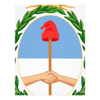 Escudo de Argentina - Coat of arms of Argentina Letterhead