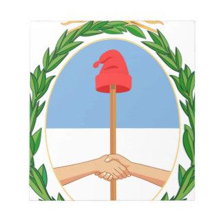 Escudo de Argentina - Coat of arms of Argentina Notepad