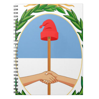 Escudo de Argentina - Coat of arms of Argentina Spiral Notebook
