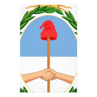 Escudo de Argentina - Coat of arms of Argentina Stationery