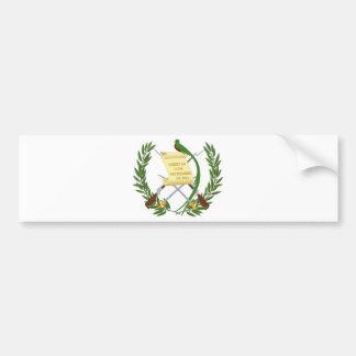 Escudo de armas de Guatemala - Coat of arms Bumper Sticker