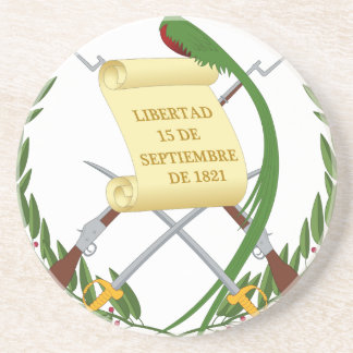 Escudo de armas de Guatemala - Coat of arms Coaster