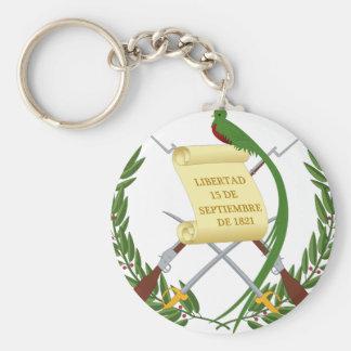 Escudo de armas de Guatemala - Coat of arms Keychain