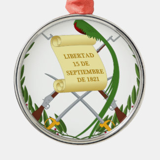 Escudo de armas de Guatemala - Coat of arms Metal Ornament