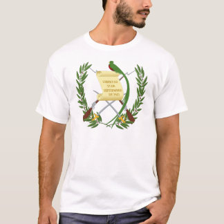 Escudo de armas de Guatemala - Coat of arms T-Shirt