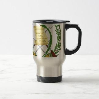 Escudo de armas de Guatemala - Coat of arms Travel Mug