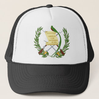 Escudo de armas de Guatemala - Coat of arms Trucker Hat