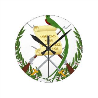Escudo de armas de Guatemala - Coat of arms Wallclock