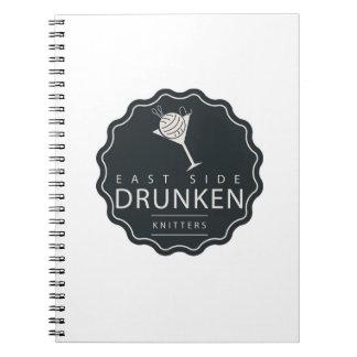 ESDK classic logo spiral notebook