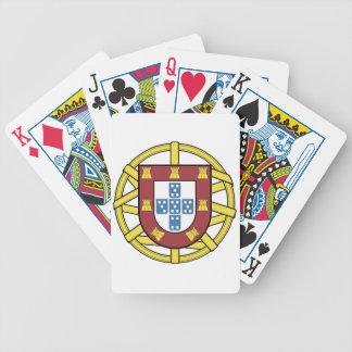 Esfera Armilar Portuguesa Bicycle Playing Cards