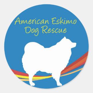 Eskie Rescue Sticker 2