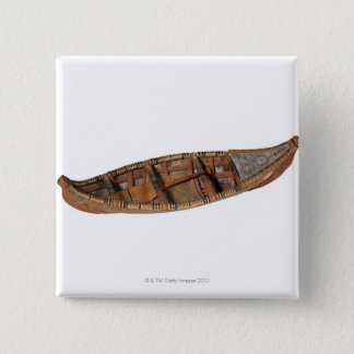 Eskimo Canoe 2 Inch Square Button