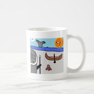 eskimo hunter coffee mug
