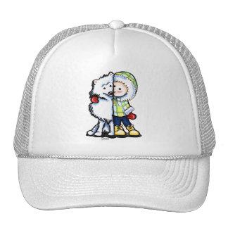Eskimo Kisses Winter Trucker Hat