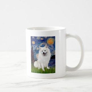 Eskimo Spitz 1 - Starry Night (Vert) Coffee Mug