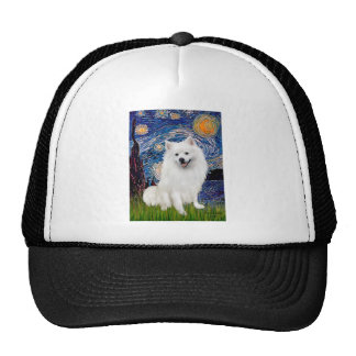 Eskimo Spitz 1 - Starry Night (Vert) Trucker Hat