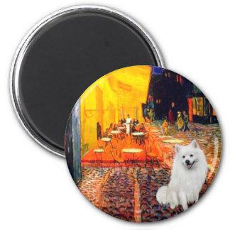 Eskimo SPitz 1 - Terrace Cafe 2 Inch Round Magnet