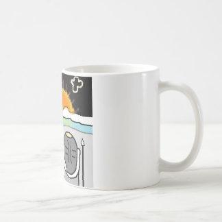 eskimo sunset coffee mug