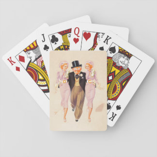 Esky with Two Girls Pin Up Art Playing Cards