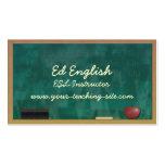 ESL Instructor Pack Of Standard Business Cards