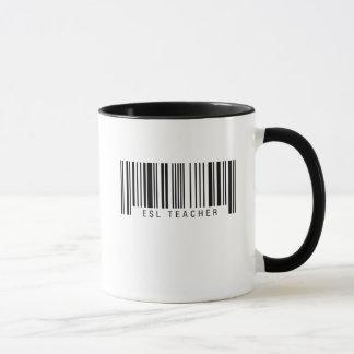 ESL Teacher Barcode Mug