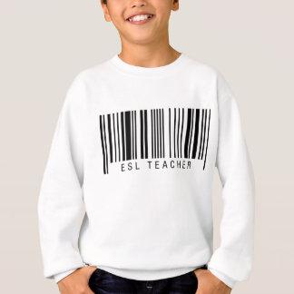 ESL Teacher Barcode Sweatshirt