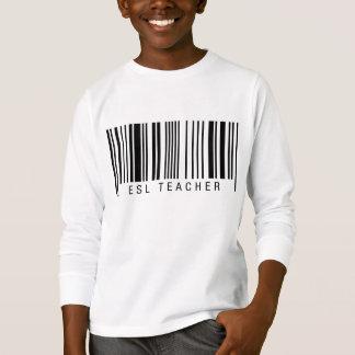 ESL Teacher Barcode T-Shirt