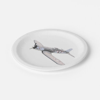 ESM F-4U Corsair airplane Paper Plate