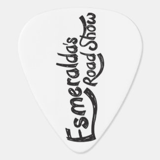 Esmeralda's Roadshow Official Guitar Pick