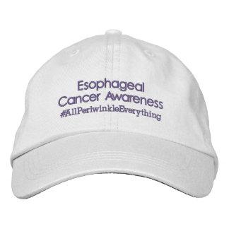 Esophageal Cancer Awareness Adjustable Hat