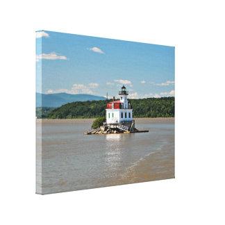 Esopus Meadows Lighthouse, New York Canvas Print