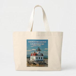 Esopus Meadows Lighthouse, New York Tote Bag