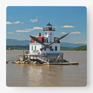 Esopus Meadows Lighthouse, New York Wall Clock
