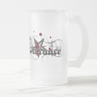 Esoteric FROSTY MUG!!! Frosted Glass Mug