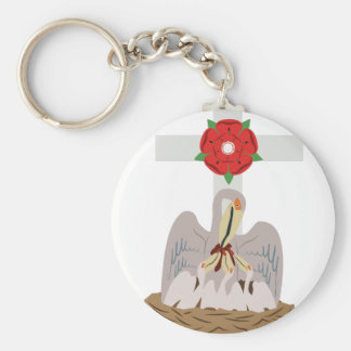 Esoteric Pelican Basic Round Button Keychain
