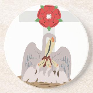 Esoteric Pelican Beverage Coasters