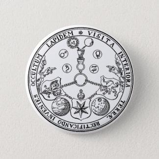 Esoteric VITRIOL Pics Badge Alchemy Alchemist 2 Inch Round Button