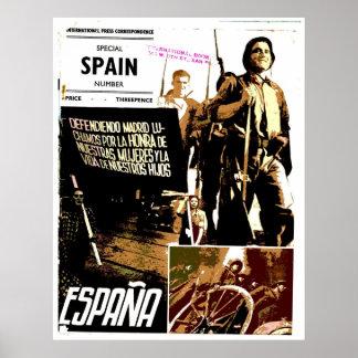 ESPANA - affiche