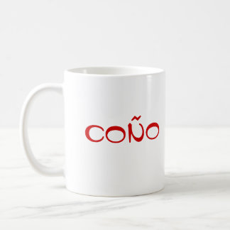España Coño Classic White Mug
