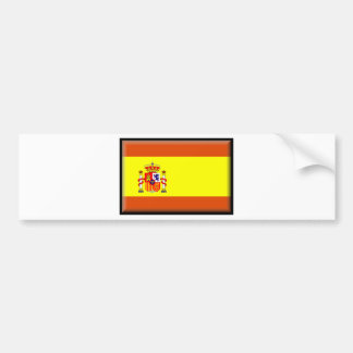 España Flag Bumper Sticker