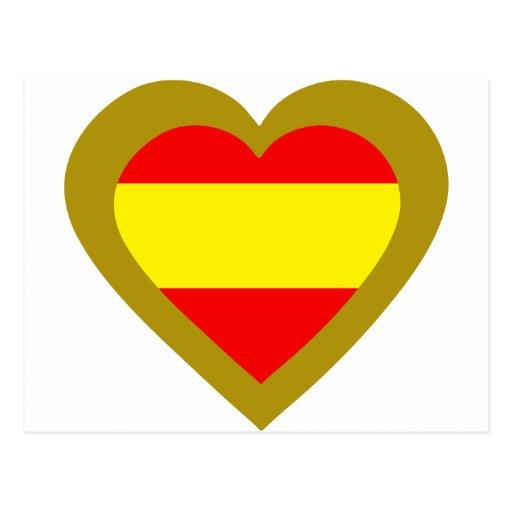 espana-heart-2. postcard
