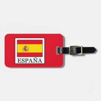 España Luggage Tag