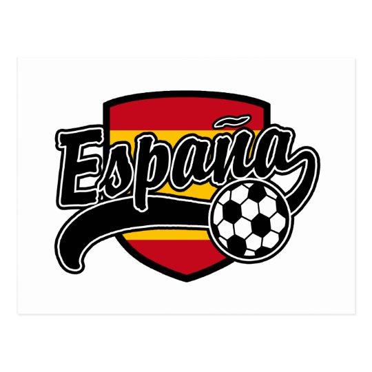 Espana Soccer Postcard