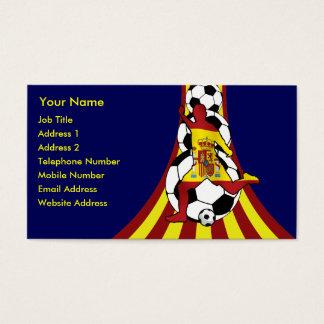 Espana Spain Soccer Fútbol Business cards
