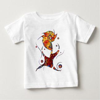 Espanessua - imaginery spiral flower baby T-Shirt
