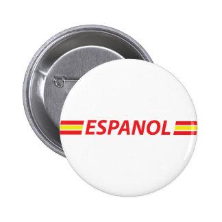 espanol icon 2 inch round button