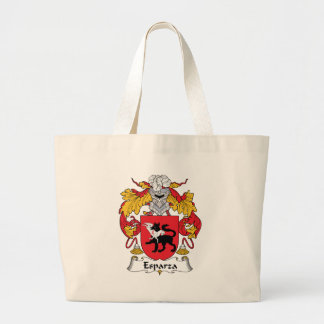 Esparza Family Crest Large Tote Bag