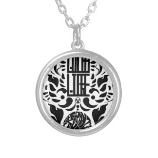 Especial de Lucha Silver Plated Necklace